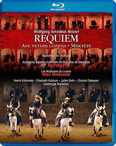 Wolfgang Amadeus Mozart: Requiem - Ave verum corpus; Miserere [Genia [DVD]