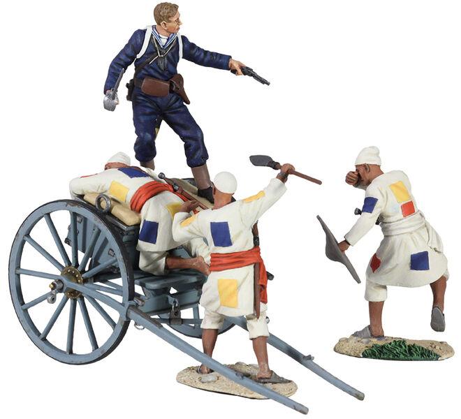 William Britains War Along Nile British Naval Brigade Gun Limber Set 27055