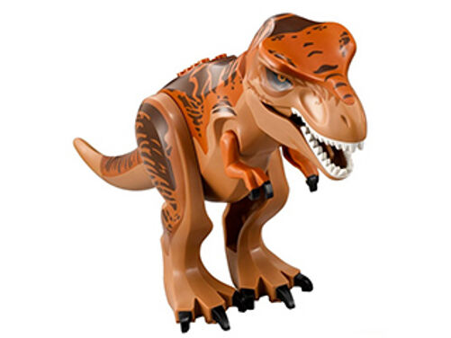 LEGO 75918 - Jurassic World - Dino T-Rex - Dark Orange & braun - Mini Figure