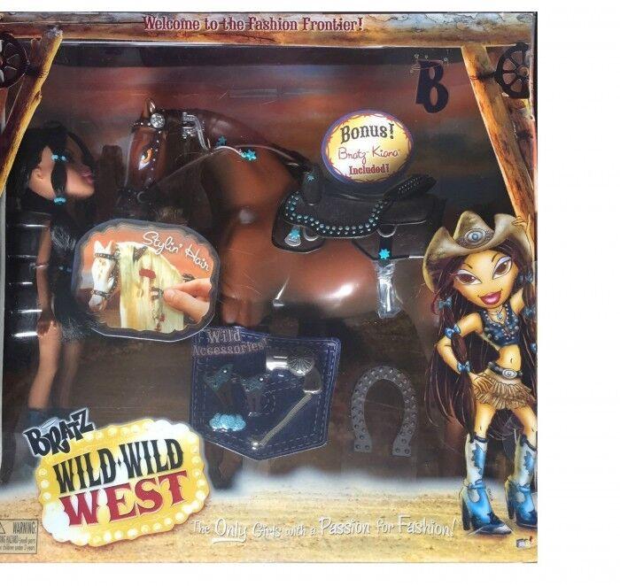 Bratz Wild Wild West Horse with Bratz Doll Kiana Ultra Rare New & Sealed