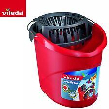 Vileda SuperMocio Cubeta Limpieza conjunto de prensa de alimentación & Escurridor Limpiador de suelo duro