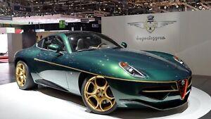 Alfa Romeo Disco Volante >> Details About 1 18 Cult Models 2013 Alfa Romeo Disco Volante Green Resin Pre Order Le Mib