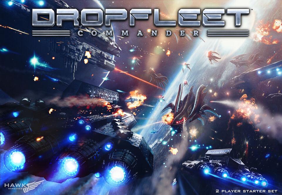 Hawk Wargames Nuevo Y En Caja dropfleet comandante 2 jugador Starter Set HDF-10002  Pedido Previo