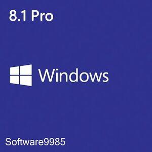 Windows 8 1 pro 32 64 bit genuine license key product code for Window 8 1 pro product key