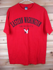EASTERN-WASHINGTON-UNIVERSITY-EAGLES-Athletics-T-Shirt-Mens-M-CHAMPS-SPORTS