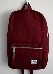 e4c1ddac8b89 HERSCHEL SUPPLY CO SETTLEMENT MID BACKPACK WINE MSRP  60- BRAND NEW ...