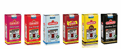 CAYKUR TURKISH BLACK TEA,Tiryaki,Filiz,Tourist,Alltinbas,Kamelya.CHEAPEST PRICE