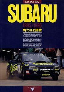 Subaru 22B For Sale >> [BOOK] Rally makes series SUBARU 95/96 WRC IMPREZA 555 Colin McRae Sti WRX EJ20 9784788680418   eBay
