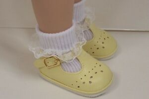 """Debs GREEN Old Fashion T-Strap Tstrap Doll Shoes For Tonner 18/"""" Ann Estelle"""