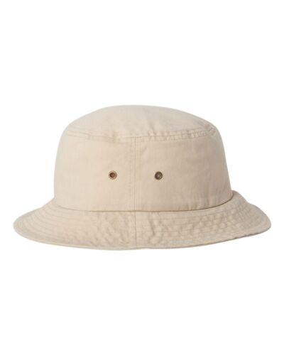 Sportsman Womens Bio-Washed Boonie Bucket Cap White Black Khaki Navy Hat 2050