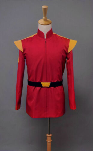 Sitcom Futurama Captain Zapp Brannigan Rouge Uniforme Cosplay Costume zcou