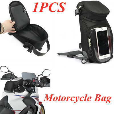 For Motorcycle Oil Fuel Tank Waterproof Shoulder Sling Bag Travel Luggage Superb