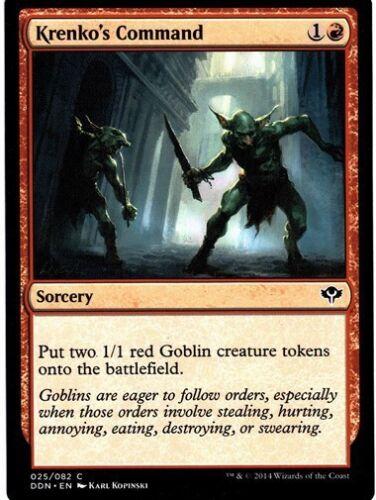 Speed vs Cunning *Top Goblin Deck* MTG 4x KRENKO/'S COMMAND