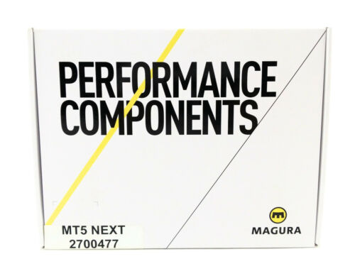 Magura MT5 Next 4-Piston Disc Brake and Lever Front or Rear with 2000mm Hose