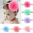 Newborn Baby Headband Toddler Infant Flower Hair Band Girls Accessories