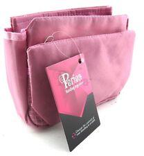 Periea Handbag Organiser, Insert, Liner 9 Pockets - Pink - Tegan