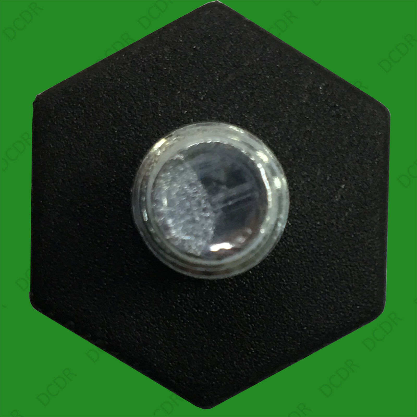 M8x15mm Adjustable Levelling Feet Hex Cross Head Bottom 2x 22mm Base Diameter