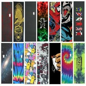 Professional-Skateboard-Grip-Tape-Board-Sandpaper-Longboard-All-Colors-Griptapes