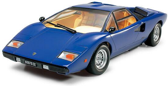 Tamiya 1/24  LAMBORGHINI COUNTACH  LP400  Kit CLassic Sports Car 24305