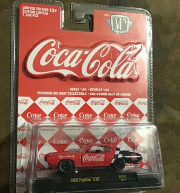 M2 Machines 1:64 Coca-Cola Diecast Vehicle 52500-RW03 for sale online