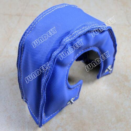 New T3 T25 T28 GT25 GT35 Blue Turbo//Turbocharger Heat Shield Blanket Cover Wrap