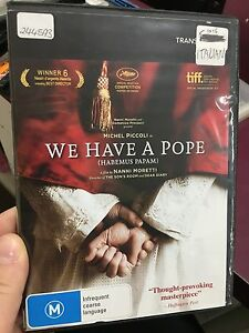 We-Have-A-Pope-ex-rental-region-4-DVD-2011-Italian-movie-RARE