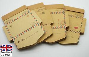 Special Envelope Design Kraft Style Lovely Memo Post Notes Sticky