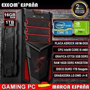 ORDENADOR-GAMING-PC-INTEL-CORE-i5-4460-NVIDIA-GT730-2GB-16GB-RAM-1TB-HDD-USB3-0