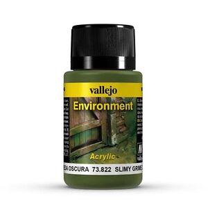 VALLEJO WEATHERING EFFECTS - SLIMY GRIME DARK 40ML - 73.822