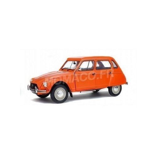 Solido s1800304-citroen dyane 6 - 1967 orange tenere 1 18