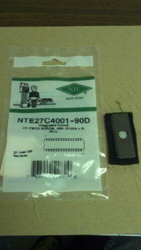NTE NTE27C4001-90D IC-CMOS UV 4Mb EPROM 90ns