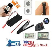 Mini WIFI HD SPY DVR Hidden Motion Activated Video Camera TF Card Android & iOS