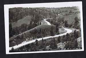 Smiley-Canyon-CRAWFORD-NEBRASKA-RPPC-Real-Photo-Postcard