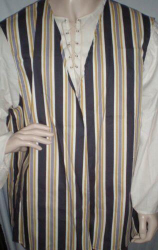 New Handmade Renaissance//Pirate Boy/'s Vest Size 11//12 Various Colors