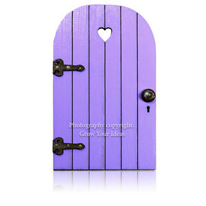 Lilac-Hand-Made-Fairy-door-for-tooth-fairy-surprise-or-fairy-garden