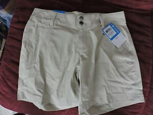 Size 2 NEW WITH TAGS! Columbia Women Omni-Shield Nylon stretch Trail SHORTS
