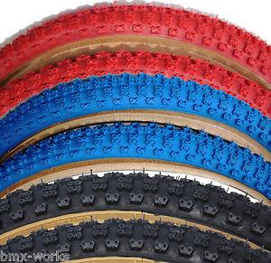 "Old School BMX Duro Comp 3 BMX Tyres 20/"" x 1.75/"" /& 20/""/' x 2.125/"""