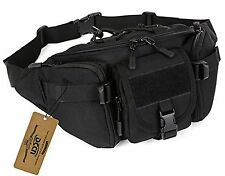 Waist Bag Military Waist Pack Bum Bag Fanny Pack Money Belt Runners Pack for ...