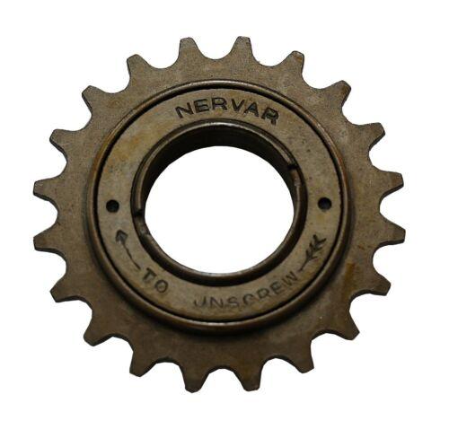 """1 Single-Speed Freewheel Pinion 1//2 x 1//8 /"""" 16 to 22 Teeth"""