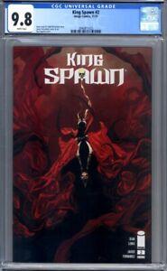 King Spawn #2  Todd McFarlane Image Comics  1st Print  CGC 9.8
