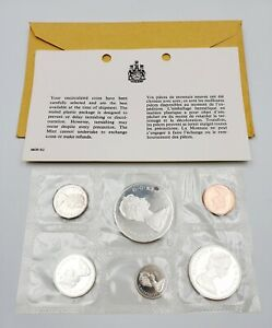 Lot Of 18 Sets 1965 Silver Canada Proof Like Coin Mint Set Sealed Canadian Coins Ebay