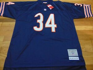 release date 86583 31185 Details about MITCHELL & NESS NFL CHICAGO BEARS WALTER PAYTON REPLICA  JERSEY SIZE XL 48