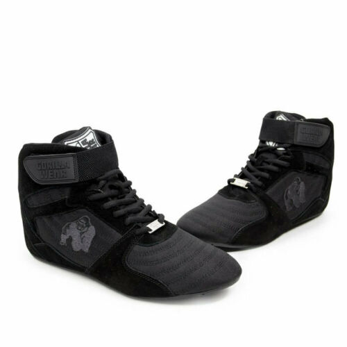 Gorilla Wear Perry High Tops Pro black//black Schuhe Fitness Workout Freizeit