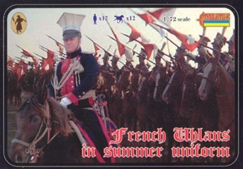 French uhlans in summer uniform Strelets 1:72