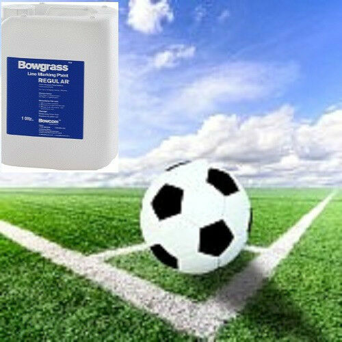 10 Lt Concentrate Bowgrass Heavy Duty Pitch Grass Line Marking Paint White 7 1