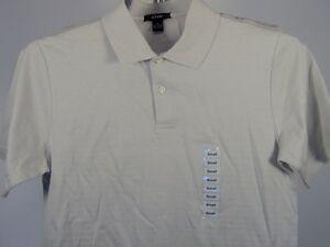 Alfani-Macys-Polo-Shirt-Beige-Small-Mens-Men-039-s-Clothing-NWT-36-00
