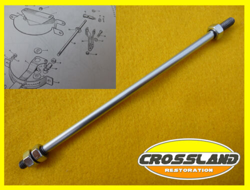 276014 Land Rover series 1 2 2a Hand Throttle Linkage Engine Speed Control Rod