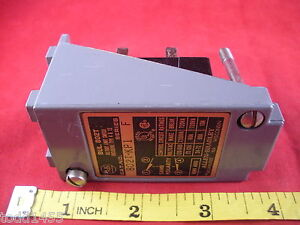 Allen-Bradley-802T-KP1-Ser-F-Limit-Switch-No-Base-No-Operating-Head-120-600v-New