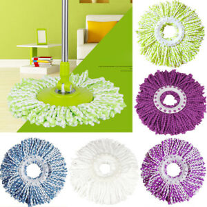 New-Replacement-360-Rotating-Head-Easy-Magic-Microfiber-Spinning-Floor-Mop-Head