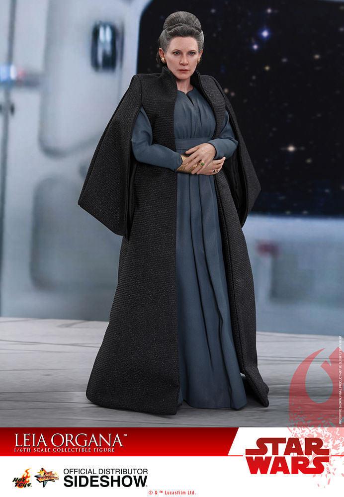 1 6 Star Wars The Last Jedi Leia Organa MMS Hot Toys 903333